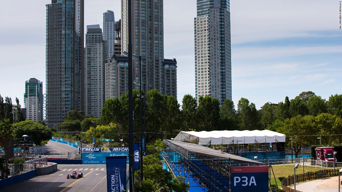 Buenos Aires hosted round four of the 2015-16 Formula E World Championship.