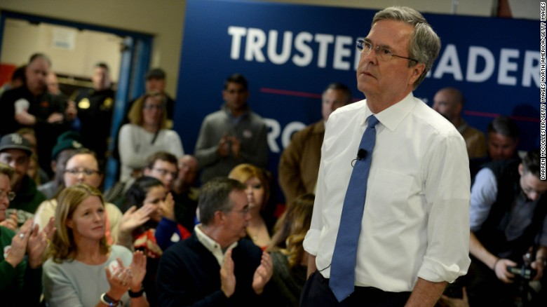 Jeb Bush: Not comfortable for me to attack Marco Rubio