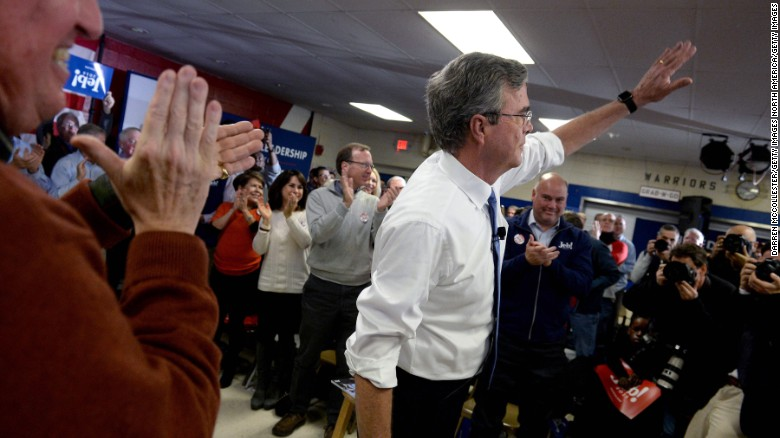 Jeb Bush: 'I'm a joyful warrior'