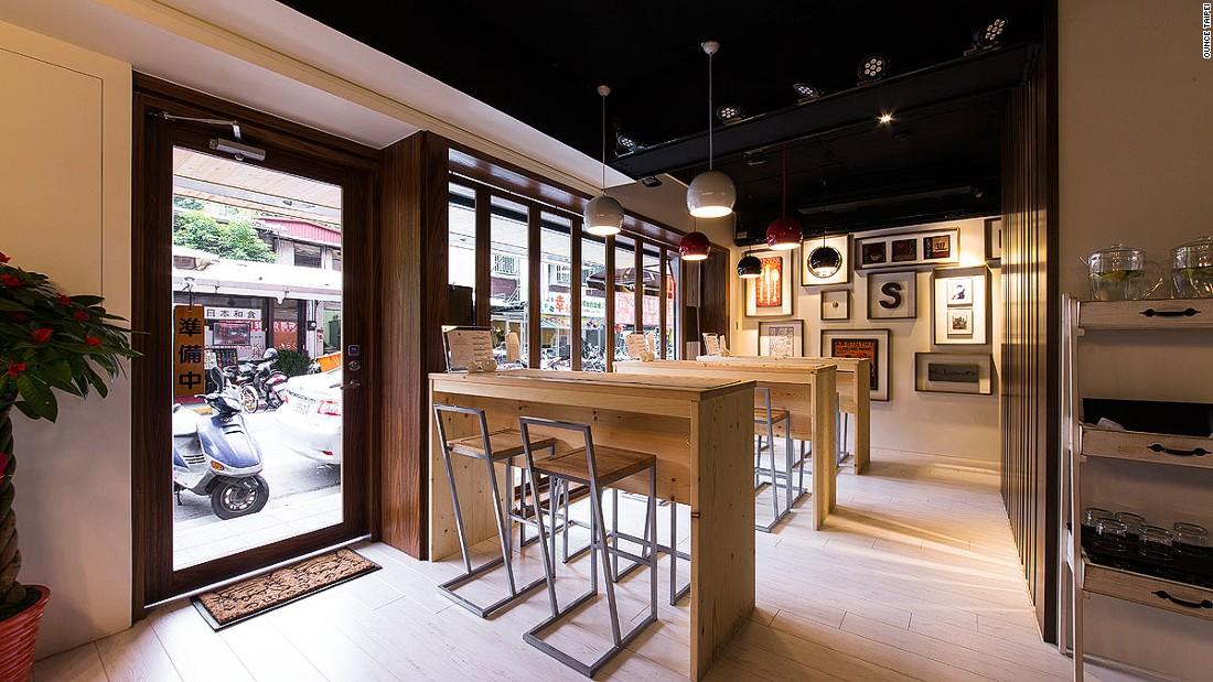 Taipei cocktail bar Ounce is hidden behind a secret door in a quiet neighborhood cafe.