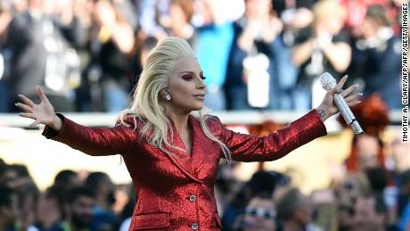 """Lady Gaga sang """"The Star Spangled Banner"""" at Super Bowl 50."""