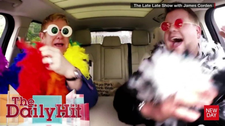 elton john carpool karaoke Daily Hit NewDay_00002011