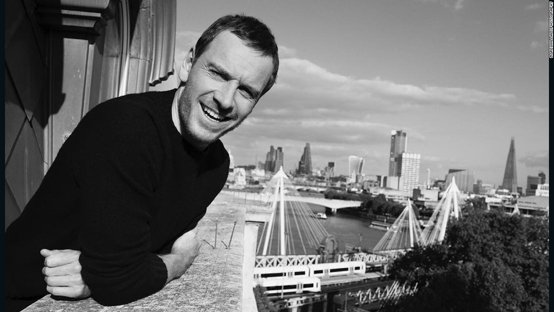 "Williams photographs <a href=""https://www.instagram.com/p/_Z6opim5Ia/?taken-by=gregwilliamsphotography"" target=""_blank"">Michael Fassbender</a> on a movie press day in London for the <em>Steve Jobs</em> film."