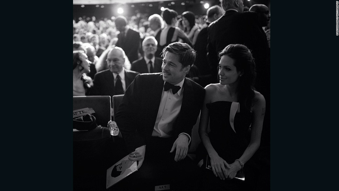 "Williams photographs the star-studded audience at the BAFTAs a few years back which includes  <a href=""https://www.instagram.com/p/lTFa7gm5Pg/"" target=""_blank"">Brad Pitt and Angelina Jolie</a> as a part of his #artofbehindthescenes series"