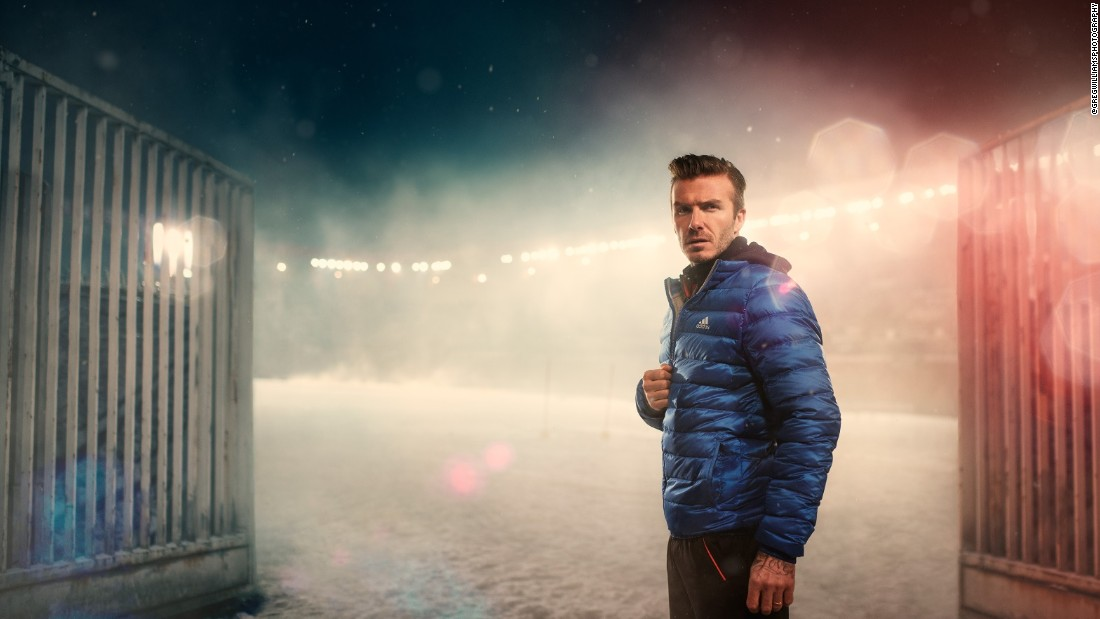 Here Greg Williams captures David Beckham for Adidas.