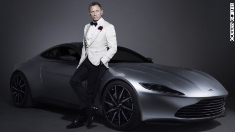 Fast cars, shaken martinis: Rare James Bond memorabilia hits auction block
