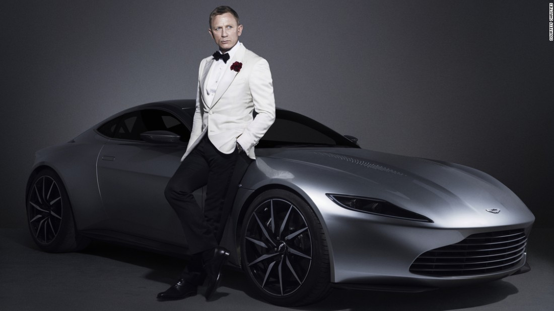 "Twenty-four items from the James Bond film ""Spectre"" will be  auctioned this month, 10 of which were sold on February 18 at an invite-only event at Christie's in London. An Aston Martin DB10 -- designed by Aston Martin specifically for 007 -- sold for $3.5 million."