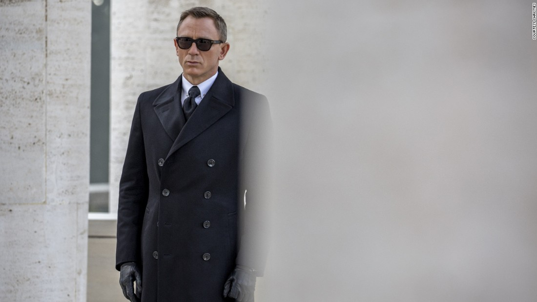 "A pair of sunglasses worn by Daniel Craig, the British actor who plays Bond, will be going under the hammer, and are still available via the <a href=""https://onlineonly.christies.com/s/james-bond-spectre-the-online-sale/lots/217"" target=""_blank"">online auction</a>."