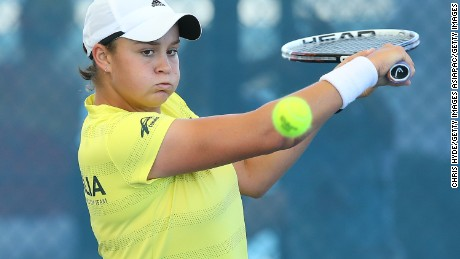 Barty owns a 3-1 win-loss record in the Fed Cup