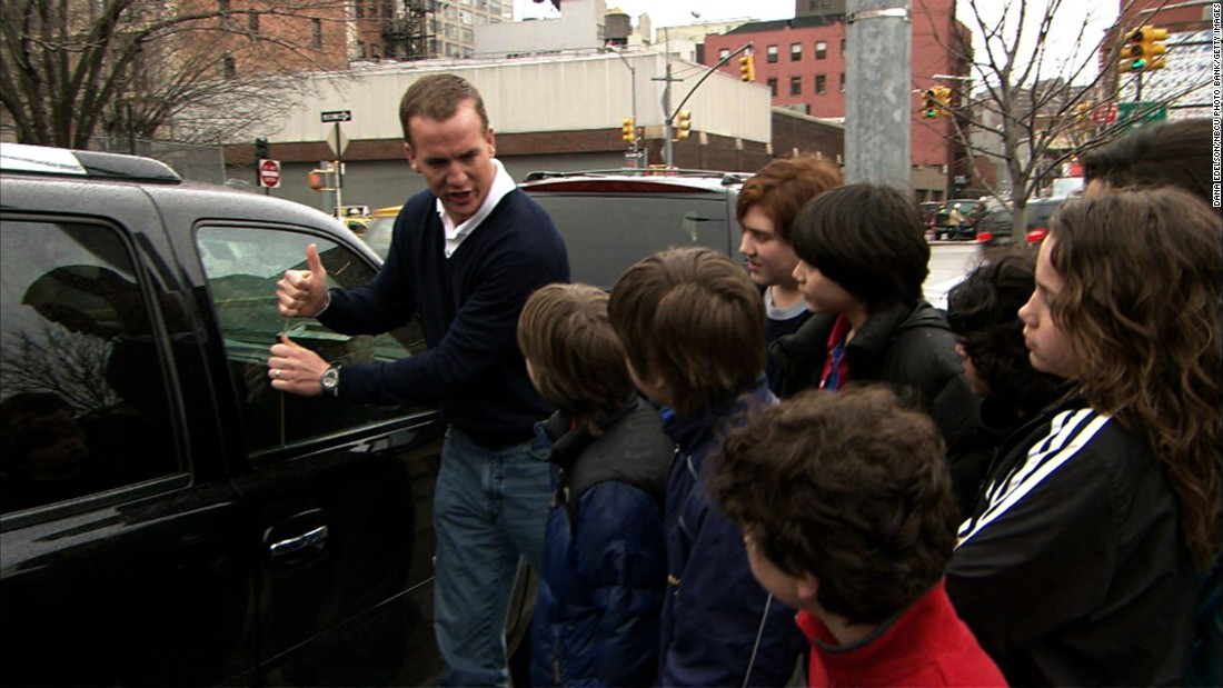 "Manning showed off his comedic chops in 2007 when he hosted an episode of ""Saturday Night Live."" In this <a href=""http://www.nbc.com/saturday-night-live/video/united-way/n12129"" target=""_blank"">memorable skit,</a> he demonstrates how to break into a car."