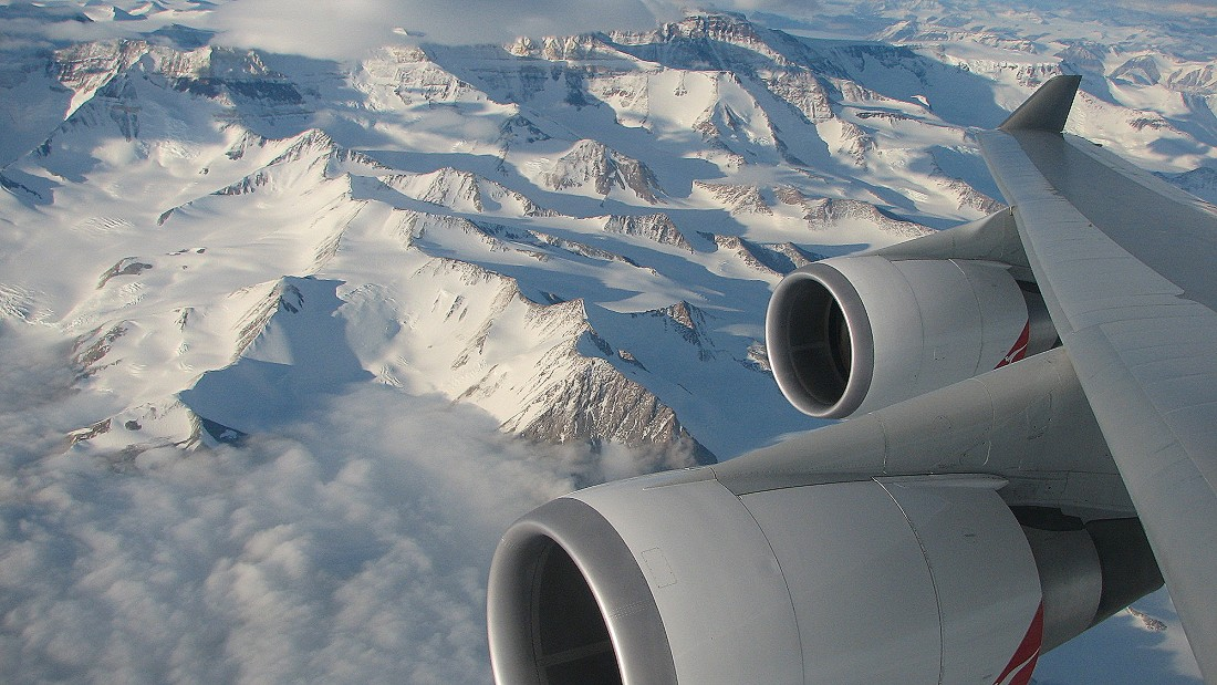 "<a href=""http://www.antarcticaflights.com.au/"" target=""_blank"">Antarctica Flights</a> is chartering a Qantas 747 from Melbourne on February 14th for a special flight over pristine landscapes, icebergs and glaciers."