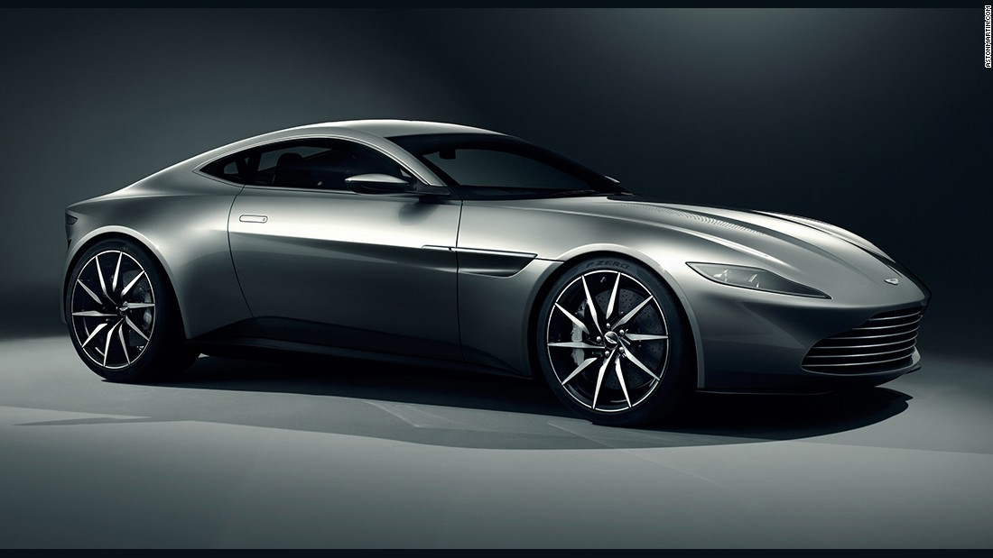 The 2015 James Bond film <em>Spectre </em>featured the DB10 -- a two-door coupe designed specifically for the movie. As the car was never intended for regular road use, it does not have any necessary road certifications. Still, Aston Martin says the car can hit a top speed of around 190 miles per hour.