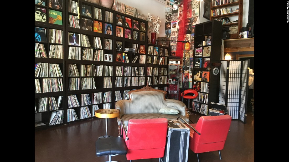 De Forest has received donations of tens of thousands of vinyl records for the WERD museum.