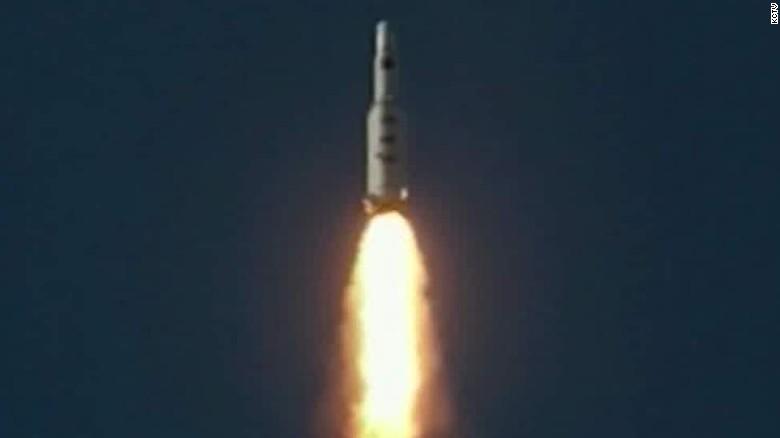 "Defense official: North Korean satellite ""tumbling"" in orbit"