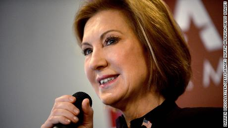 "MANCHESTER, NH - FEBRUARY 8: Republican Presidential candidate Carly Fiorina holds ""Coffee With Carly"" at Blake's Restaurant February 8, 2016 in Manchester, New Hampshire. (Photo by Darren McCollester/Getty Images)"
