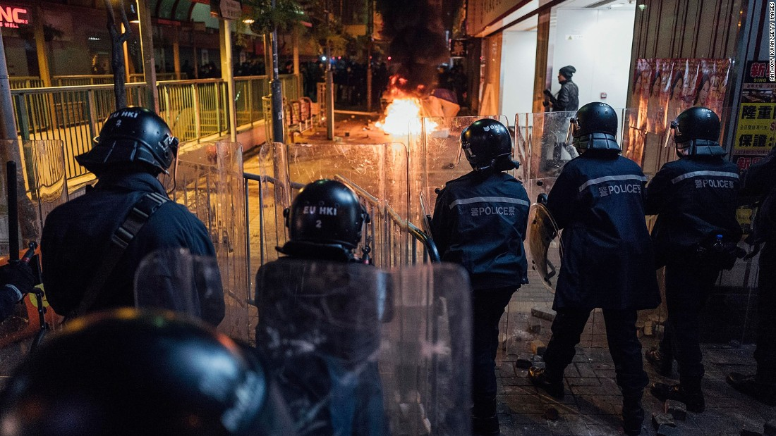 "<strong>Fishball Revolution: <a href=""http://cnn.com/2016/02/08/asia/hong-kong-riots-shots-fired/""></strong>Violence erupts in Mong Kok in February 2016</a> after police attempts to shut down traditional Chinese New Year street vendors selling fishballs are fiercely resisted by protesters."