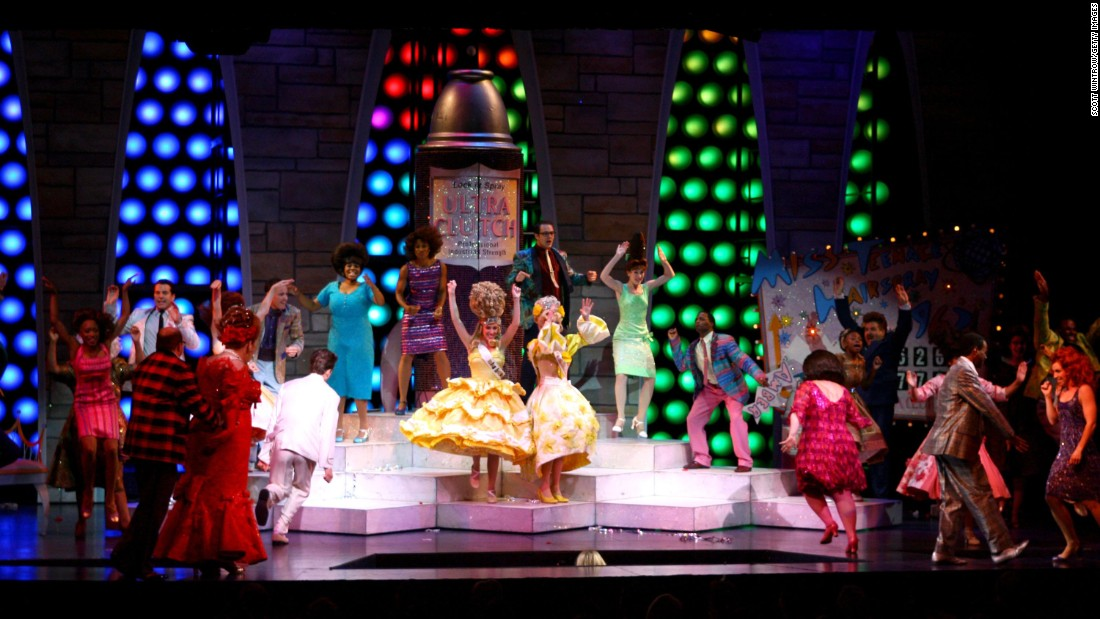 """Hairspray"" might have seemed an unlikely source for a musical -- a John Waters film about 1960s high schoolers? -- but it was a smash when it debuted in 2002 and ran for more than 2,500 performances. It also picked up a Tony for best musical."