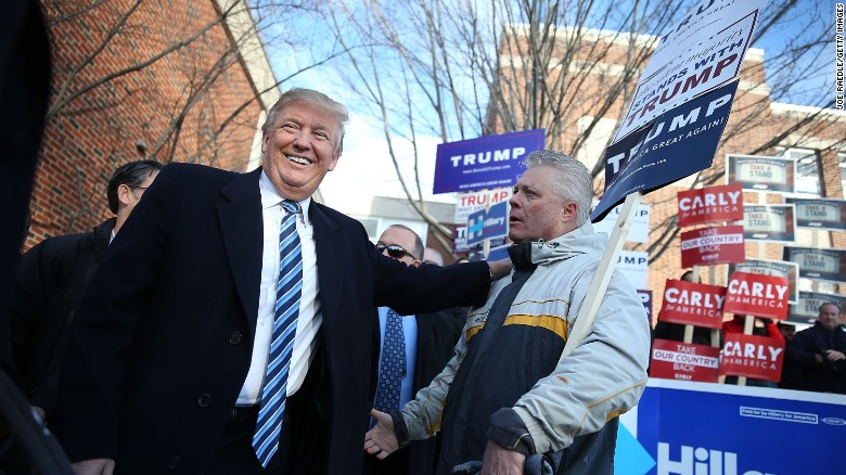 How Donald Trump won the New Hampshire primary