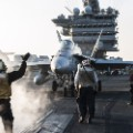 F/A-18 on carrier
