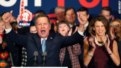 John Kasich: Happy warrior