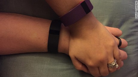 Husband and wife never expected their Fitbit would tell them this ...