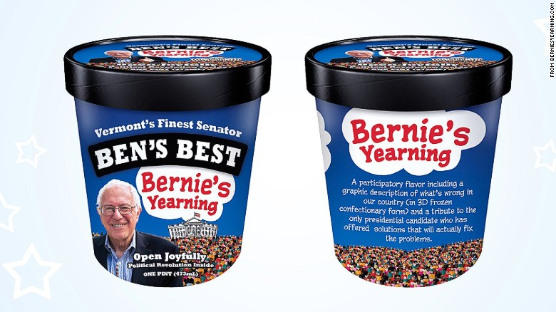 bernie tries ben and jerrys bernies yearning ice cream _00000000