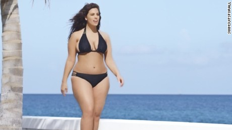 swimsuit model plus size sports illustrated