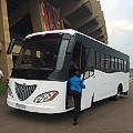 Africa solar bus Uganda bus