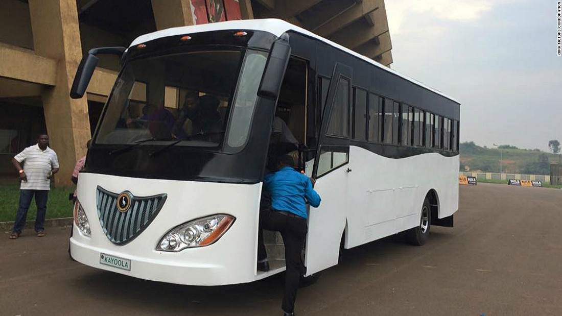 """Uganda is one of only 13 countries in the world on the Equator,"" says Musasizi. ""In 2011, I said to my team, let's do an electric bus and let's make sure that the solar system is integrated into it to provide charging infrastructure for the bus."""