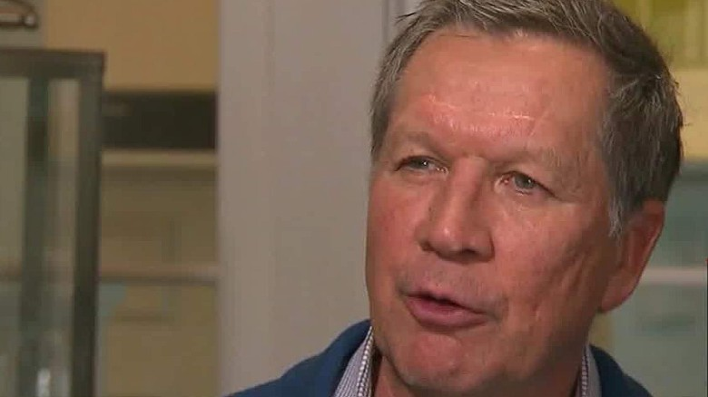 John Kasich: I'm not going to let rivals 'pound on me'