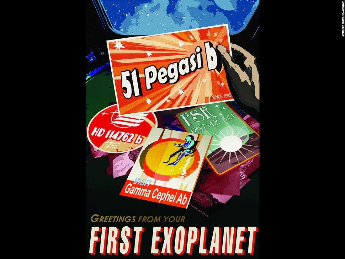 "In 1995, scientists discovered 51 Pegasi b. The <a href=""http://exep.jpl.nasa.gov/"" target=""_blank"">exoplanet</a> is about half the mass of Jupiter."