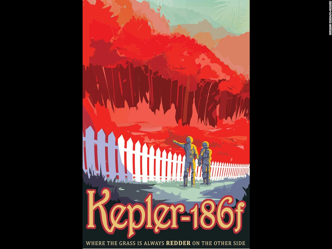 "Kepler-186f orbits a cooler, redder sun. The discovery of Kepler-186f was a step in finding worlds with <a href=""http://www.nasa.gov/ames/kepler/nasas-kepler-discovers-first-earth-size-planet-in-the-habitable-zone-of-another-star"" target=""_blank"">similar characteristics to Earth</a>."