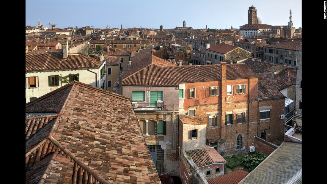 The ghetto is in Venice's Cannaregio district.
