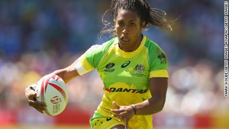 Ellia Green: Australia's rugby strongwoman aims to make mom smile