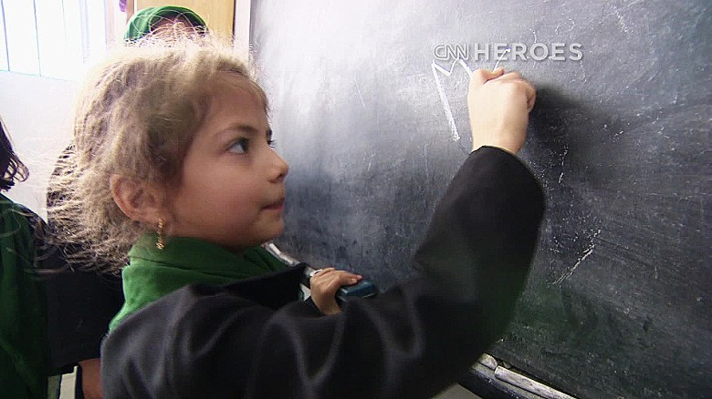 Fighting for girls' education in Afghanistan