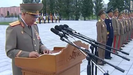 Ranking North Korean official executed by regime?