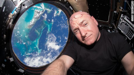 Just before the 15th anniversary of continuous human presence on the International Space Station on Nov. 2, 2015, U.S. astronaut and commander of the current Expedition 45 crew, Scott Kelly, is breaking spaceflight records. On Friday, Oct. 16, Kelly begins his 383rd day living in space, surpassing U.S. astronaut Mike FinckeÕs record of 382 cumulative days. Kelly will break another record Oct. 29 on his 216th consecutive day in space, when he will surpass astronaut Michael Lopez-AlegriaÕs record for the single-longest spaceflight by an American. Lopez-Alegria spent 215 days in space as commander of the Expedition 14 crew in 2006.