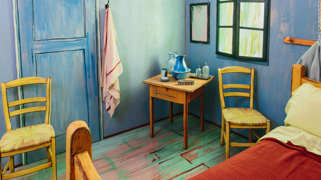 Van Gogh\'s bedroom is available on Airbnb   CNN Travel