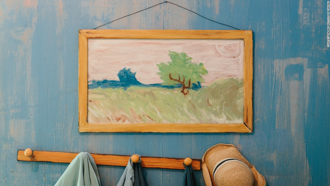 Van Gogh s bedroom is available on Airbnb   CNN Travel. The Bedroom Van Gogh Painting. Home Design Ideas