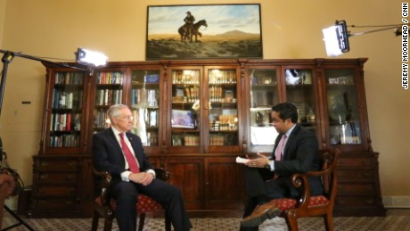Manu Raju interview with Harry Reid