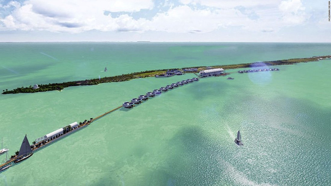 Leonardo DiCaprio purchased the island of Blackadore Caye in Belize to build a luxury, eco-friendly resort for $1.75 million. It's slated to open in 2018.