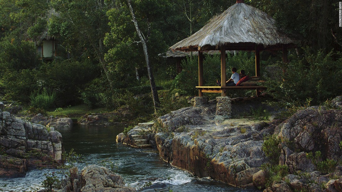 The director's lifestyle brand owns properties including the Blancaneaux Lodge (pictured) and Turtle Inn in Belize, Palazzo Margherita in Italy, La Lancha in Guatemala and Jardin Escondido in Argentina.