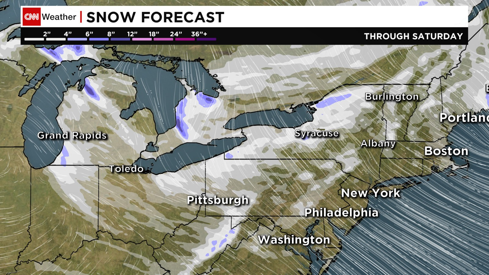 Dangerously Cold Weather In Northeast CNNcom - Us weather map lows