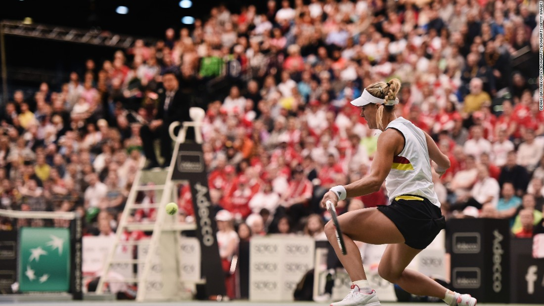 Did Kerber have time to soak up her Melbourne success, maybe take a few weeks off? Nope. She was back playing a week later in the Fed Cup for Germany. However, her team lost 3-2 to Switzerland in Leipzig.