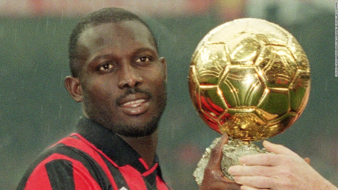 George Weah's 15-year-old son nets five goals in match ...
