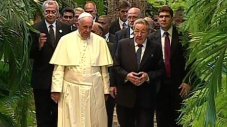 Cuba Raul Castro Pope Francis Partnership oppmann pkg_00022623