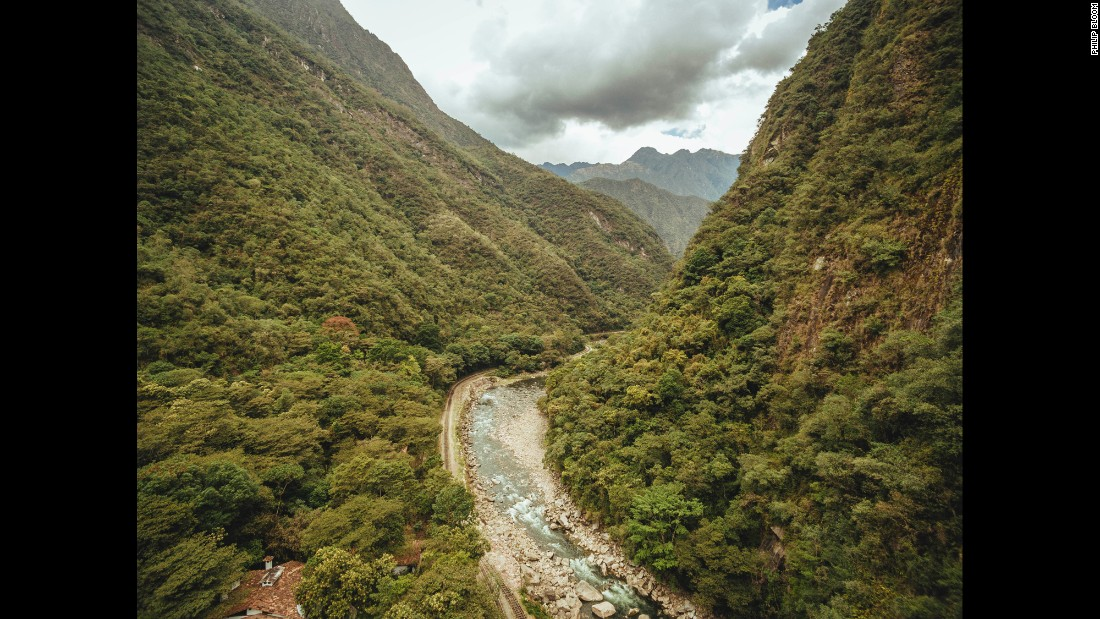 There's no way to drive to Peru's Machu Picchu. Visitors either hike for days on the Inca Trail or ride a train that snakes its way through the Andes along the Urubamba River.