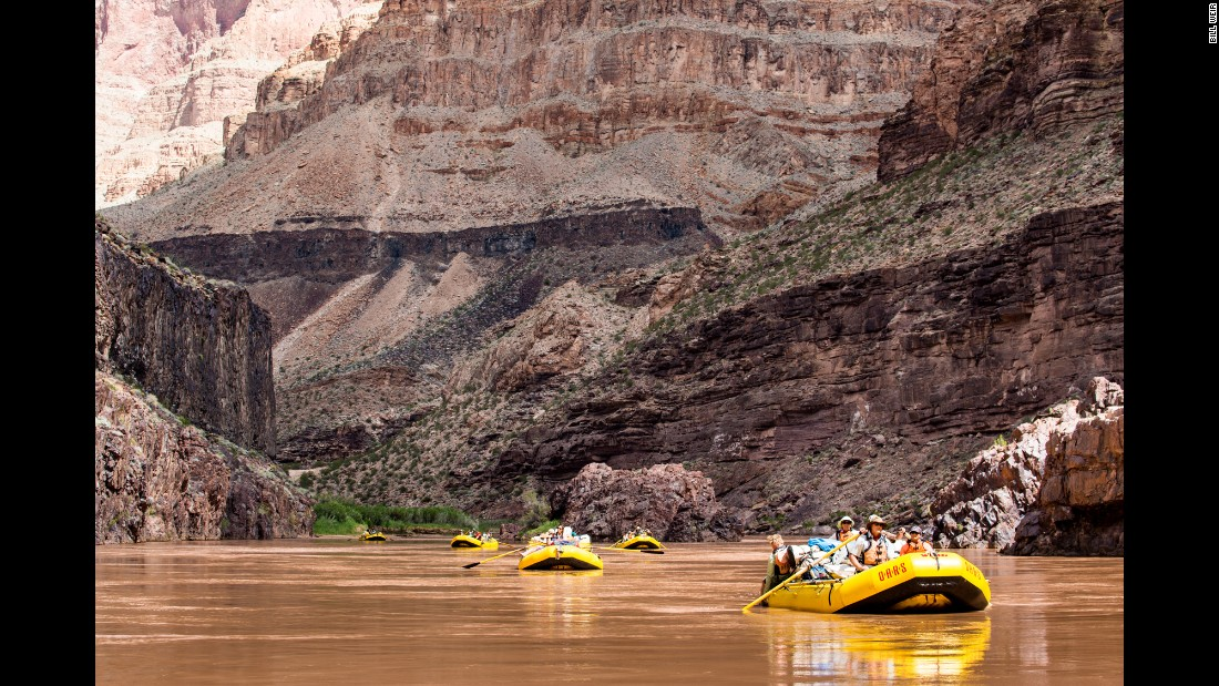 A lottery system determines the lucky 30,000 permitted to raft the Colorado through Arizona's Grand Canyon each year.