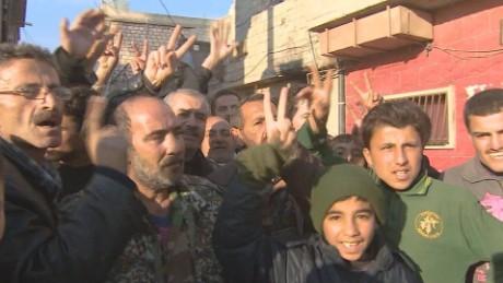 Syrian forces make major gains