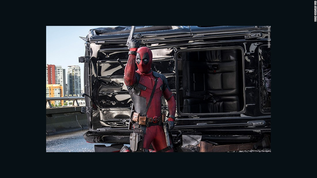 "Ryan Reynolds played motormouth assassin ""Deadpool"" in 2016's surprise R-rated blockbuster."